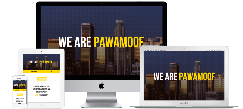 Pawamoof Responsive Websites